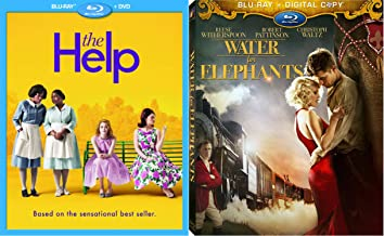 Water for Elephants & The Help [Blu-ray] (20th Anniversary Edition) Spirit Set