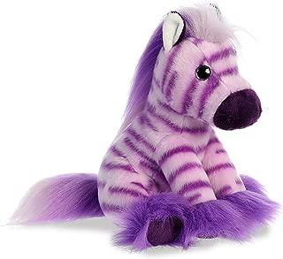 Aurora World Plush Magnificent Mane Taffy Zebra, Small