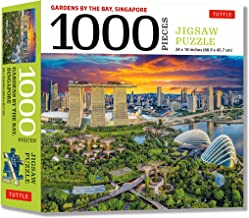 Singapore's Gardens by the Bay - 1000 Piece Jigsaw Puzzle: (Finished Size 24 in X 18 in)