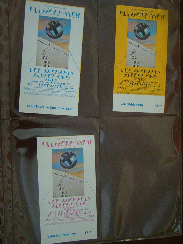 Limited time sale Lee Michaels New item Vintage Music Tickets 2 BG Albert King