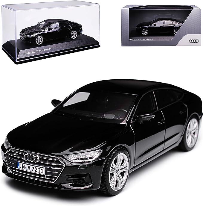 Kyosho A U D I A7 Sportback C8 Limousine Schwarz 2 Generation Ab 2018 1 43 I Scale Modell Auto Mit Individiuellem Wunschkennzeichen Spielzeug