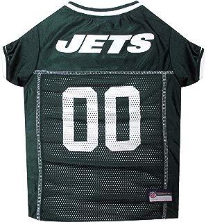 NFL New York Jets Green Mesh Pet Football Jersey