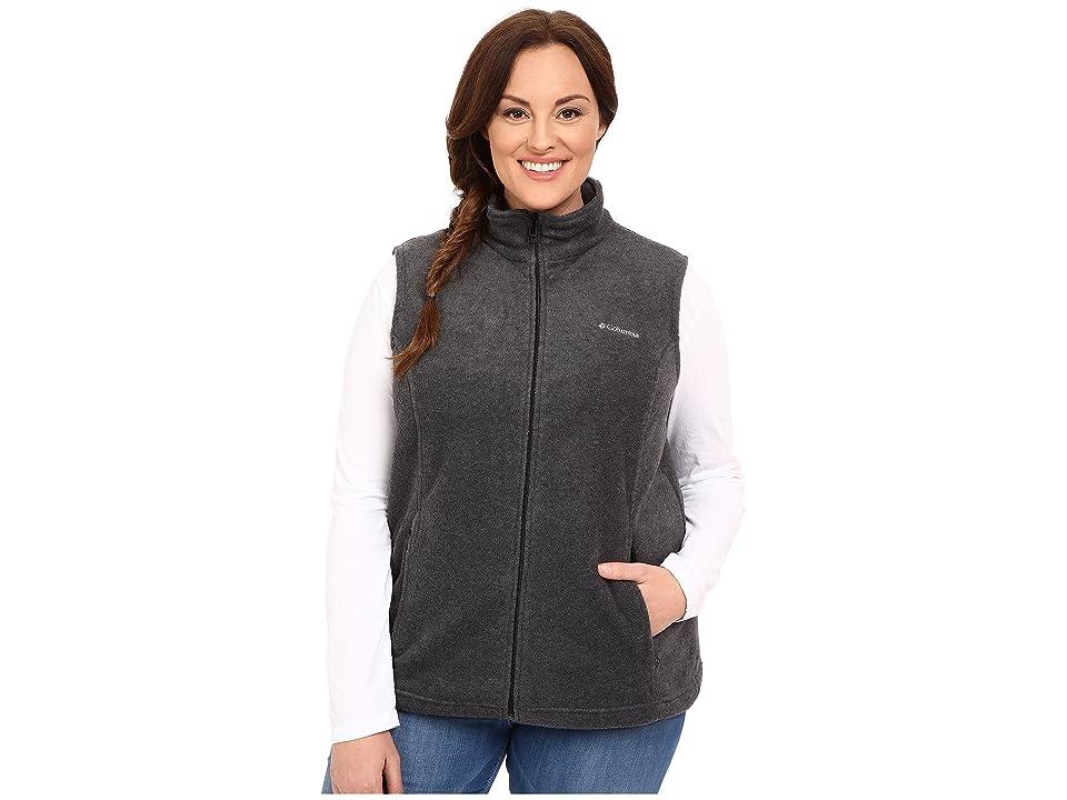 Columbia Plus Size Benton Springstm Vest (Charcoal) Women