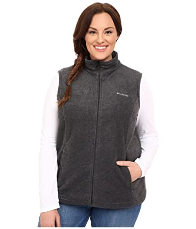 Columbia Plus Size Benton Springstm Vest (Charcoal) Women