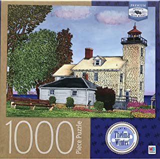 Sodus Bay Lighthouse, by Thelma Winter, 1000 Piece Puzzle