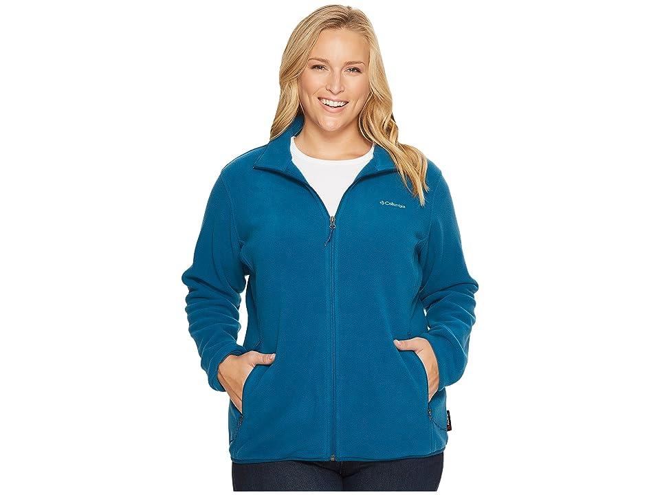 Columbia Plus Size Fuller Ridge Fleece Jacket (Phoenix Blue) Women