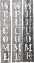 vertical welcome sign font