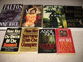 Set of 8 Vampire Chronicles by Anne Rice~Interview With The Vampire/The Witching Hour/The Queen of the Damned/Merrick/The ...