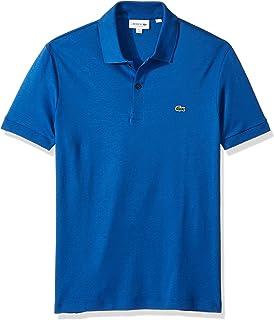 Lacoste Mens Short Sleeve Pima Jersey Interlock Regular Fit Polo Shirt