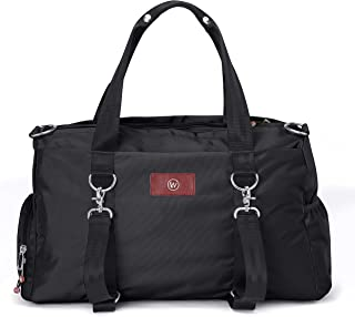 Live Well 360 Best Gym Duffel Bag for Men or Women – Bag with Shoe, Laptop & Wet Compartment - Perfect Sports or Workout Shoulder Bag with Multiple Compartments – Crossfit, Yoga, Boxing - The LUXX