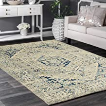 """Rugsville Clemence Ivory Oriental Persian Carpet 5'3"""" x 7'10"""""""