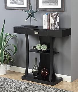 Convenience Concepts Newport Harri Console Table, Black