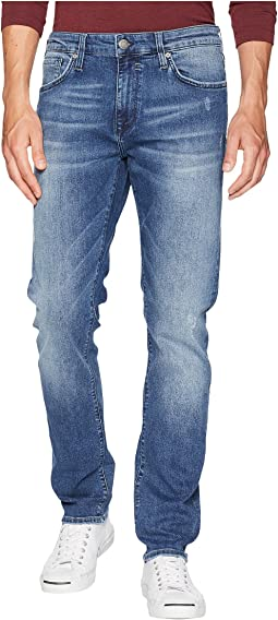 Jake Regular Rise Slim in Indigo Ripped Chelsea