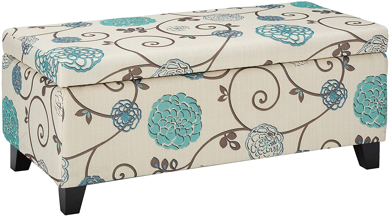 Christopher Knight Home Breanna Fabric Ranking TOP15 Ottoman White An Cheap bargain Storage