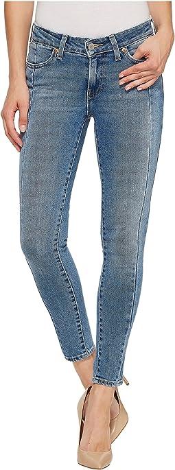 Levi's® Womens 711 Mended Skinny