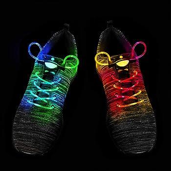 Hip Hop Shoes Boots Neon Laces Night