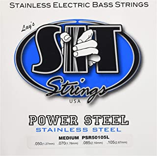 SIT Strings S.I.T. Stay In Tune PSR50105L 4-String Medium Stainless Steel Bass (