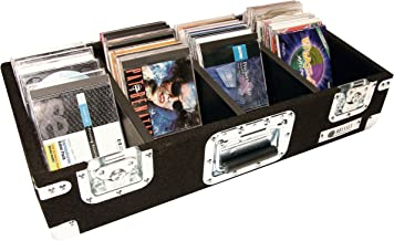 Odyssey CCD300P Carpeted Cd Case With Recessed Hardware For 300 View Packs Or 100 Jewel Cases