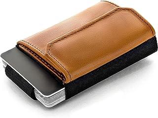 JAIMIE JACOBS 'Nano Boy Pocket' Mini Portafoglio uomo con Portamonete, Porta Carte di Credito dal design minimalista, Mini...