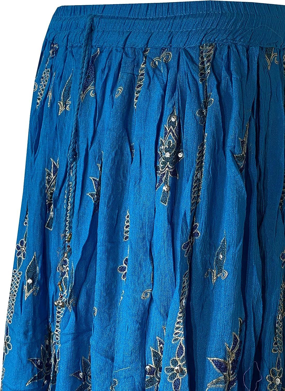 Decoraapparel Women Clothing A-Line Long Modest Fashion Beach Wear Skirt