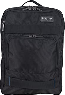 """Kenneth Cole Reaction Polyester Dual Compartment 15"""" Laptop Business Backpack with Techni-Cole RFID"""