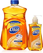 Dial Gold Antibacterial Liquid Soap with Moisturizer, 7.5 ounce Pump Bottle and 52 ounce Refill