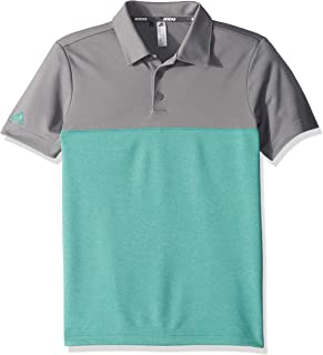 Golf Heathered Color Blocked Polo