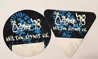1998 OzzFest Backstage Passes Milton Keynes UK