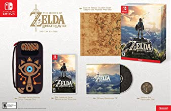 The Legend of Zelda: Breath of the Wild Special Edition (Console Not Included)