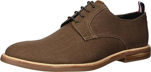 Ben Sherman Men's Birk Plain Toe Oxford, marrón, 7.5 M US