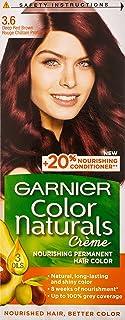 Garnier Color Naturals 3.6 deepred brown Haircolor100 gm