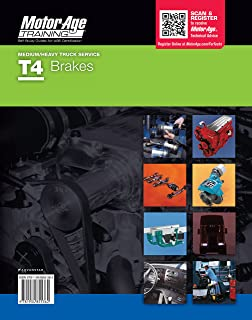 By Motor Age ASE Certification T4 Test Prep: Brakes Test Certified Mechanic (Motor Age Training) [Paperback]