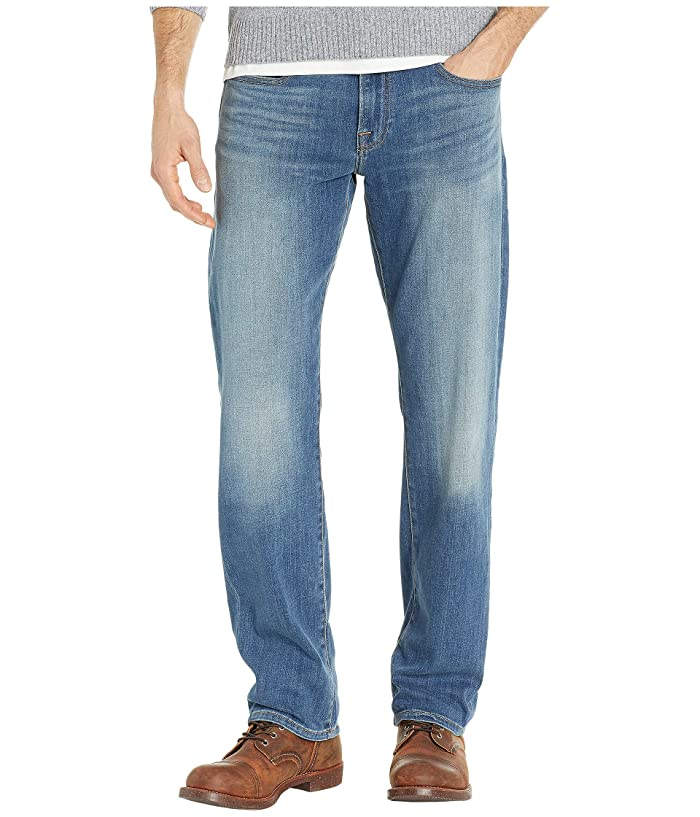 Lucky Brand  221 Original Straight Jeans in Grand Mesa (Grand Mesa) Mens Jeans