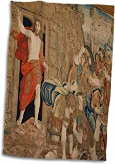 3D Rose Tapestry in The Vatican Museum-Rome-Italy-Eu16 Jse0001-Jan and Stoney Edwards Towel 15