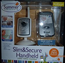 Slim&secure Handheld Color Video Monitor - Silver