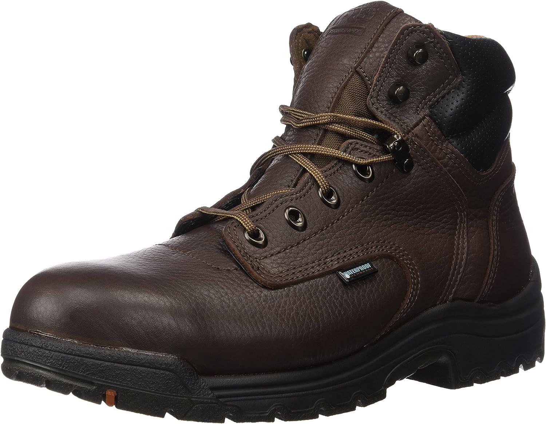 Timberland PRO Men's 26078 Titan 6 Waterproof Safety-Toe Work Boot,Dark Mocha,11.5 XW US B003NUQWNS  | Hochwertige Materialien