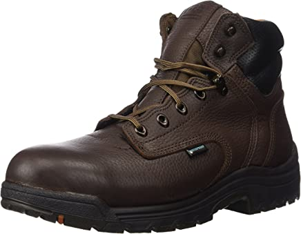 Timberland Pro Mens 6 in Titan Al Wp Shoe, 9 UK, Dark Brown : boots