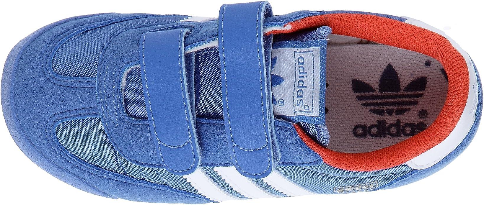 adidas Originals Dragon CMF I, Baskets mode enfant, Bleu/Blanc ...