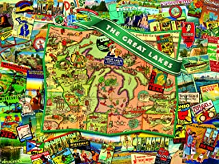 Great Lakes 1000 pc Jigsaw Puzzle by SunsOut