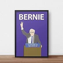 Bernie Sanders Poster Print - Artwork - Inspirational - Politics - Socialism - Jeremy Corbyn