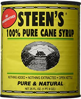 Steen's 100% Pure Cane Syrup 25oz Can (Pack of 2)