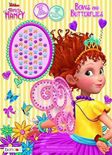 Disney Fancy Nancy 48 Page Activity Book with Jewel Stickers Bendon 45647