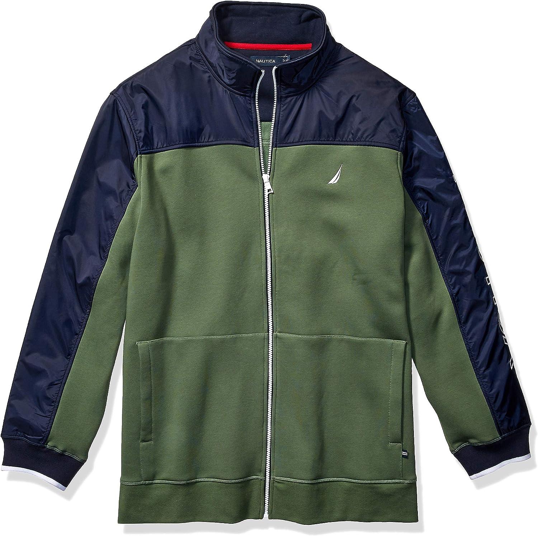 Nautica Men's Superior Fleece Jacket Track 5 popular