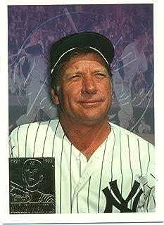 1996 Topps Mickey Mantle #7 New York Yankees - Baseball Card