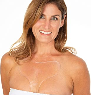 Chest Wrinkle Pads - Decollete Anti Wrinkle Chest Pads - 2 PACK - Most Efficient Way To Get Rid & Prevent Chest Wrinkles While You Sleep, Reusable Comfortable Overnight Silicone Chest Wrinkle Pad