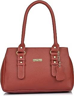 Fostelo Women's Westside Handbag (Maroon) (FSB-1236)