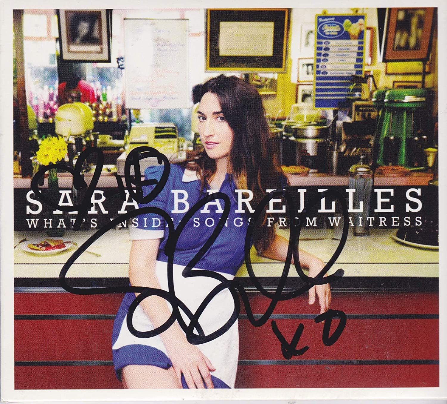 Sarah Bareilles CD NEW before selling All items free shipping signed