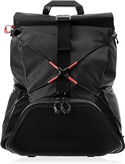 OMEN X by HP Transceptor Roll-Top Gaming Backpack – Black/Red -Adjustable Chest & Shoulder Straps – Esports – Gear Organizer – Reinforced Top Handle – TSA Compliant – RFID Pocket (3KJ69AA#ABD)