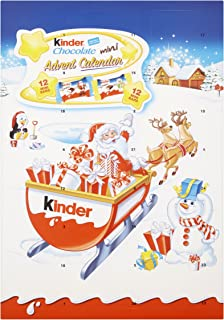 Kinder Seasonal Advent Calendar Chocolates, 135 g (Pack of 3)