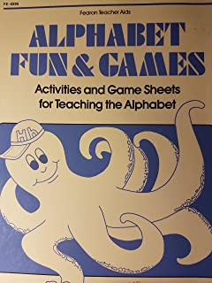 Alphabet Fun and Games: Activities and Game Sheets for Teaching the Alphabet (Makemaster Blackline Masters)